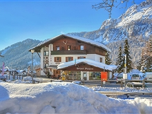 Haus Bel Air im Winter