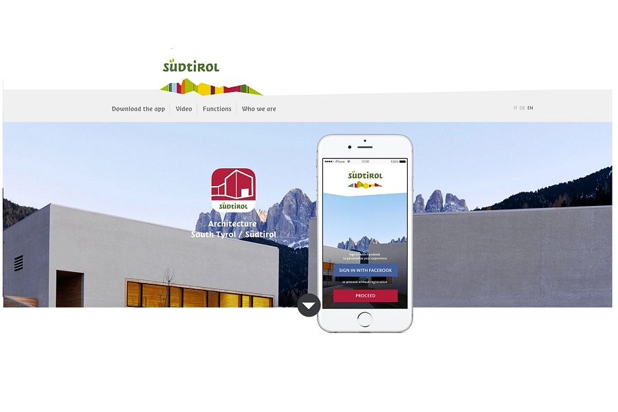 Architecture App South Tyrol Alto Adige