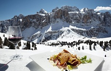 Alta Badia Ski region food and drink for epicures