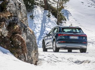 Audi Driving Experience in Alta Badia