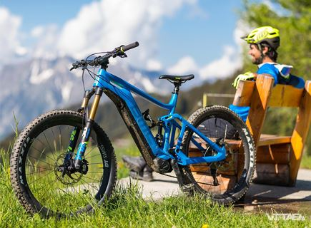 E-bike and hike