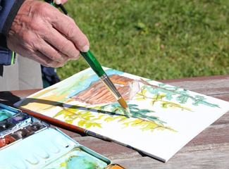 Ert sön munt - Drawing and painting in the nature