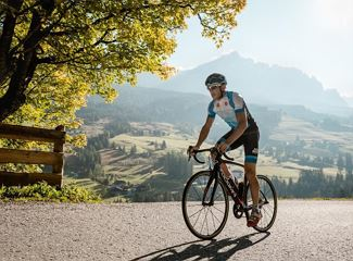 Guided road bike tour - Passo Fedaia