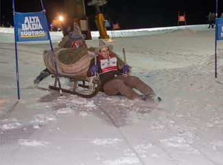 Hay sled Fun Race