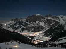 Corvara im Winter