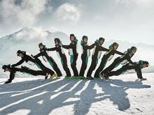 Ski and snowboard school Dolomites