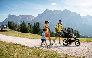 Summer holidays for families in the Alps