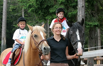 Horse riding and equestrian centres