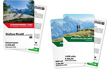 Dolomiti Super Summer Cards