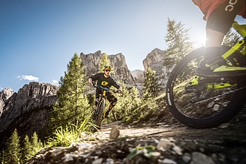 Alta Badia Mountain Bike und Downhill