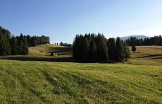 Armentara meadow in Alta Badia