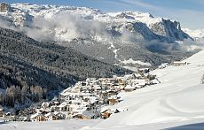 San Cassiano in winter